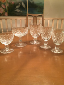 Waterford Crystal - Donegal Pattern - 22 Pieces