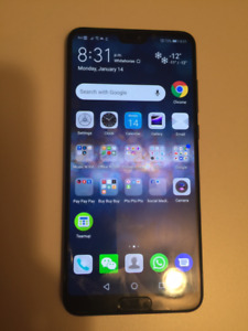 Huawei P20 Pro with all accessories