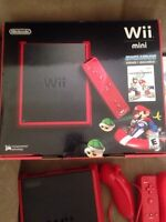 Red Wii Mini Excellent Condition