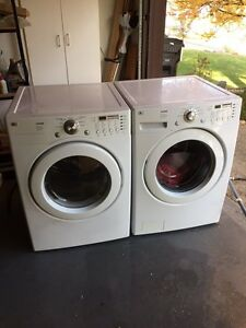 LG Front Load Washer and Dryer - Free Delivery!!!!!