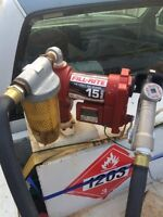 Slip tank brand new 15GPM pump! Used for gasoline