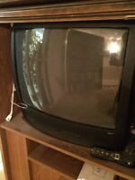 Pick it up today! Working CRT TV