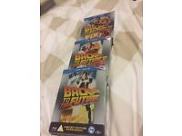 Back to the future trilogy limited edition blu ray steelbooks. New.