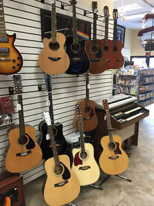 ELECTRIC, BASS AND ACOUSTIC GUITARS THAT ALL RANGE IN PRICE Kingston Kingston Area image 3