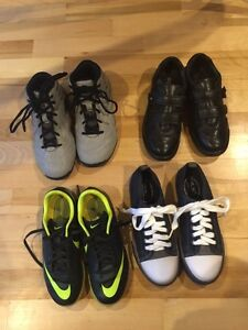 Adidas , Nike , children s place and Ecco Size 2,2 1/2 and 3