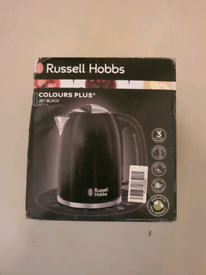 Brand new russell hobbs colours plus black kettle