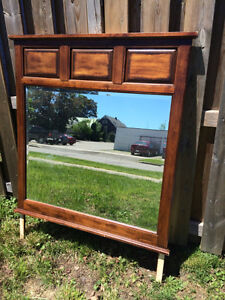 Large mirror for sale in good condition!