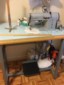 Elna Industrial Sewing Machine