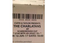 Charlatans tickets x2 £50