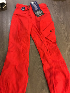 New Under Armour Lewis Snow Pants (Color - red; Size - small)