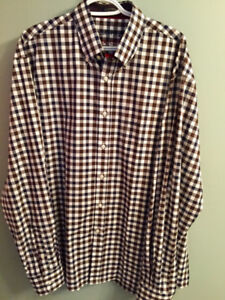 Paul & Sharking Yachting Dress Shirt - XL