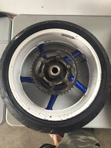 Rims/tires/rotors and sprocket off 2004-2006 R1