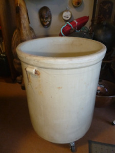 20 gallon stoneware crock by Imperial