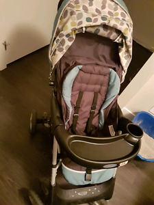 Stroller & infant car seat, FP play mat, baby clothes