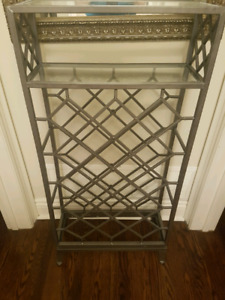 Wrought iron wire rack
