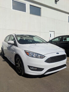 2017 Ford Focus White — Finance Takeover