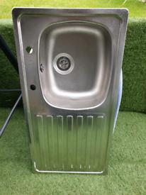 Aluminium kitchen sink