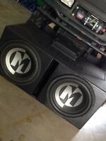 "Two 15"" Memphis Subs"
