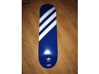 Cliché X Adidas skate deck