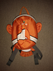 Little life Clownfish toddler backpack with rein