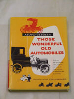 1953 book: 'Those Wonderful Old Automobiles'