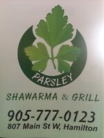 Part time / full time helper wanted in shawarma place