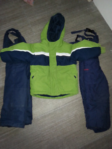 2T snowsuit and boots