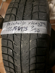 195/65/15 Michelin x ice XI3