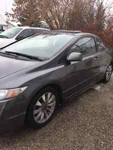 2009 Honda Civic EX-L 2Dr Coupe 5 Speed