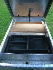 Full-Size Champion aluminum truck toolbox in great condition Cambridge Kitchener Area image 2