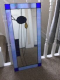 'Rennie Mackintosh' style mirror