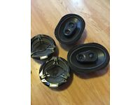 Car speakers 6/9 an 7 inch