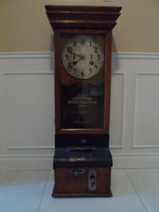 Antique Punch Time Clock