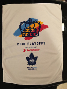 Toronto Marlies 2018 playoff rally towels - $10