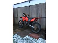 Ktm 125 04 model £1200 or swaps for 250cc