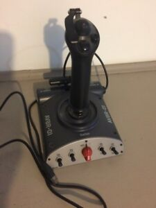 SAITEK FLIGHT JOYSTICK - AS NEW CONDITION