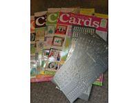 Card making magazine job lot