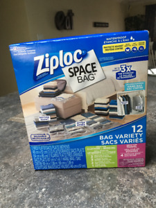 ZIPLOC SPACE BAGS (BRAND NEW)