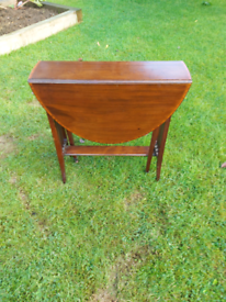 Gorgeous antique mahogany side table