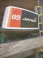 85 hp Johnson outboard motor