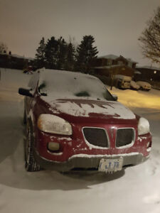 2005 Pontiac Montana + WINTER TIRES