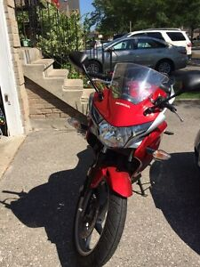 2011 Honda cbr250r $2500