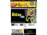 2 X children in need rocks the 80s tickets plus hotel