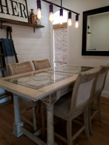 Dining room table-lower price . Must go!