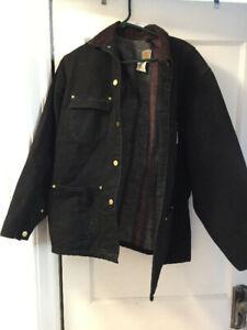 Black Carhartt Jacket- Medium