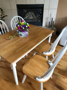 Wooden kitchen/craft/game table