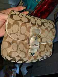 Coach  Crossover and matching wallet
