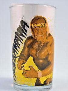 WWF 1988 Titan sports Glasses Jars Hulk, Macho Man, Liz, Brutus,