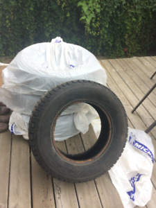 SNOW TIRES - USED
