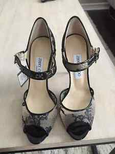 Jimmy Choo - Lace Black - Size 37- never worn
